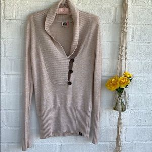 Roxy V Neck Sweater